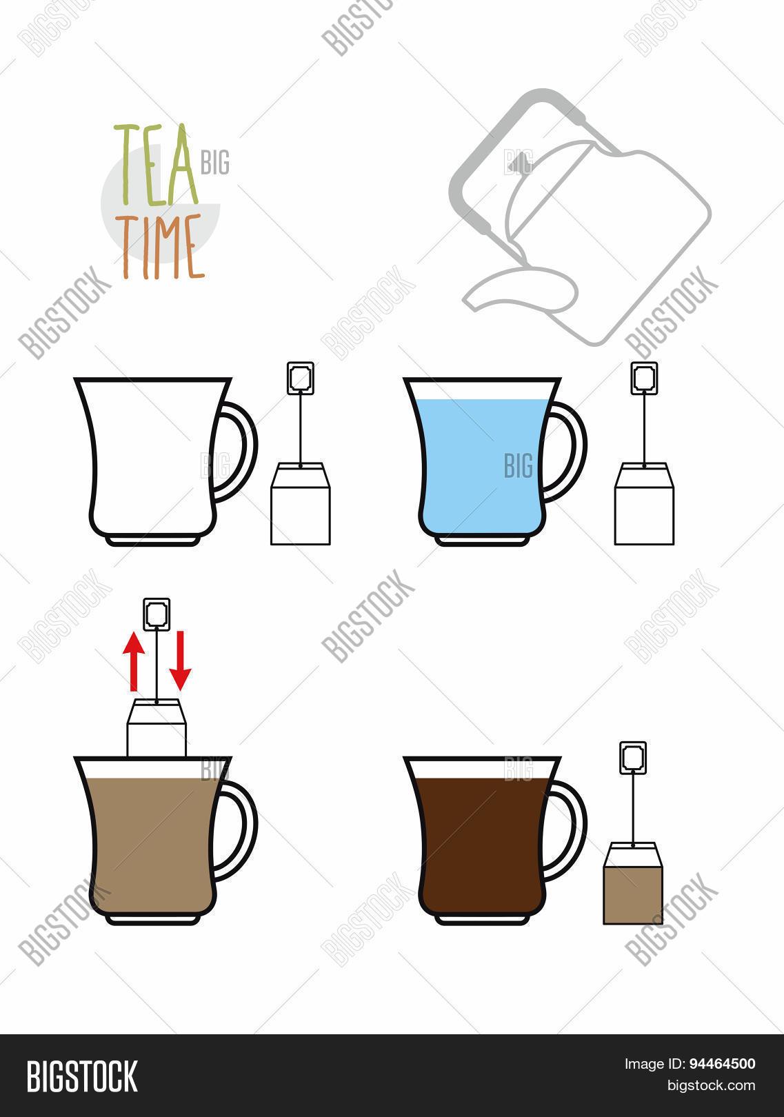 Instruction Tea Vector Photo Free Trial Bigstock