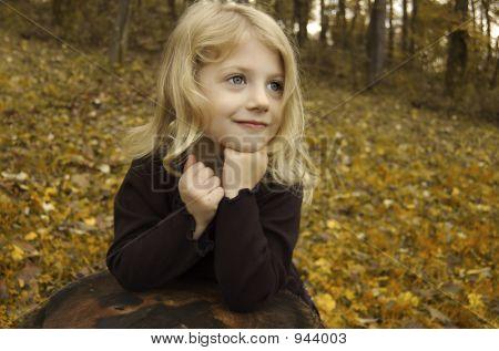 Little Autumn Girl