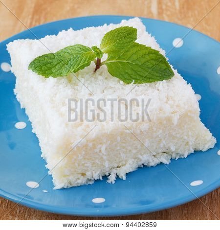 Sweet Couscous (tapioca) Pudding (cuscuz Doce) With Coconut