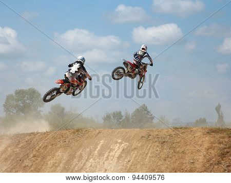 Arsenyev, Russia - Aug 30: Rider Participates In The  Round Of T