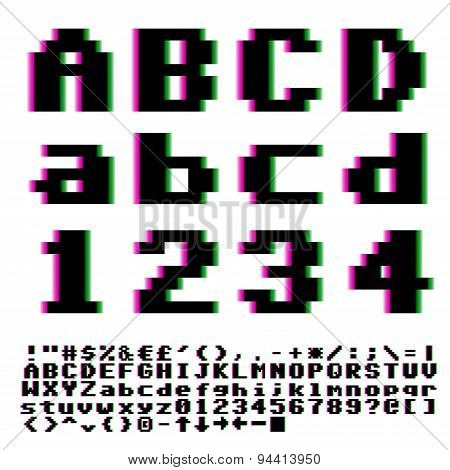 Pxiel font