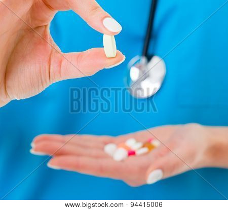 Drugs Held By Doctor