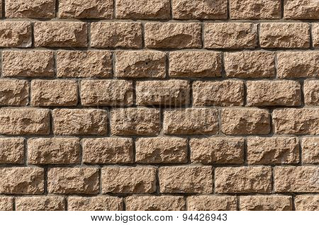 Wall Of Stones As Background