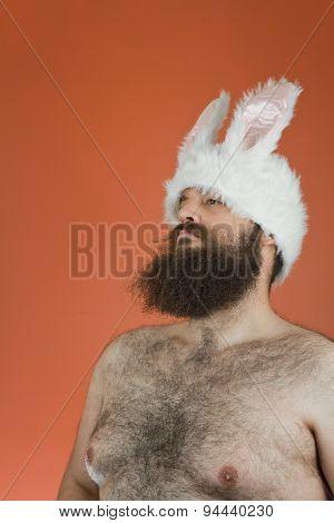Confident Bunny Man