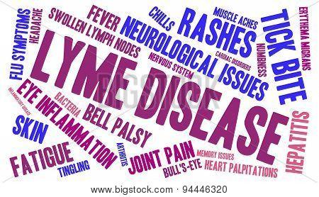 Lyme Disease Word Cloud