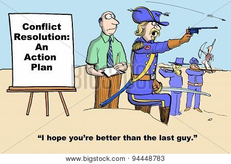 Conflict Resolution Action Plan