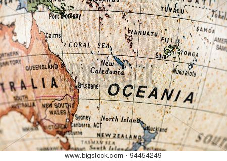 Globe Oceania