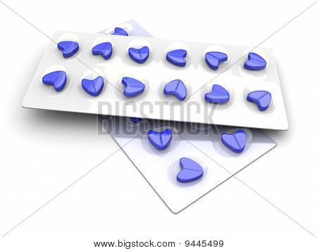 Blue Love Pills..