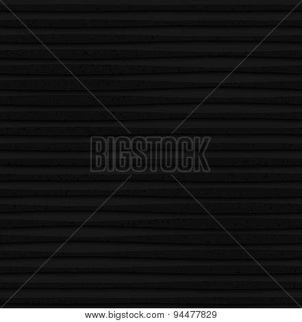 Textured Black Plastic Lines With Thickening