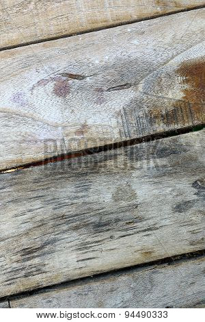 Old wooden board surface interest.