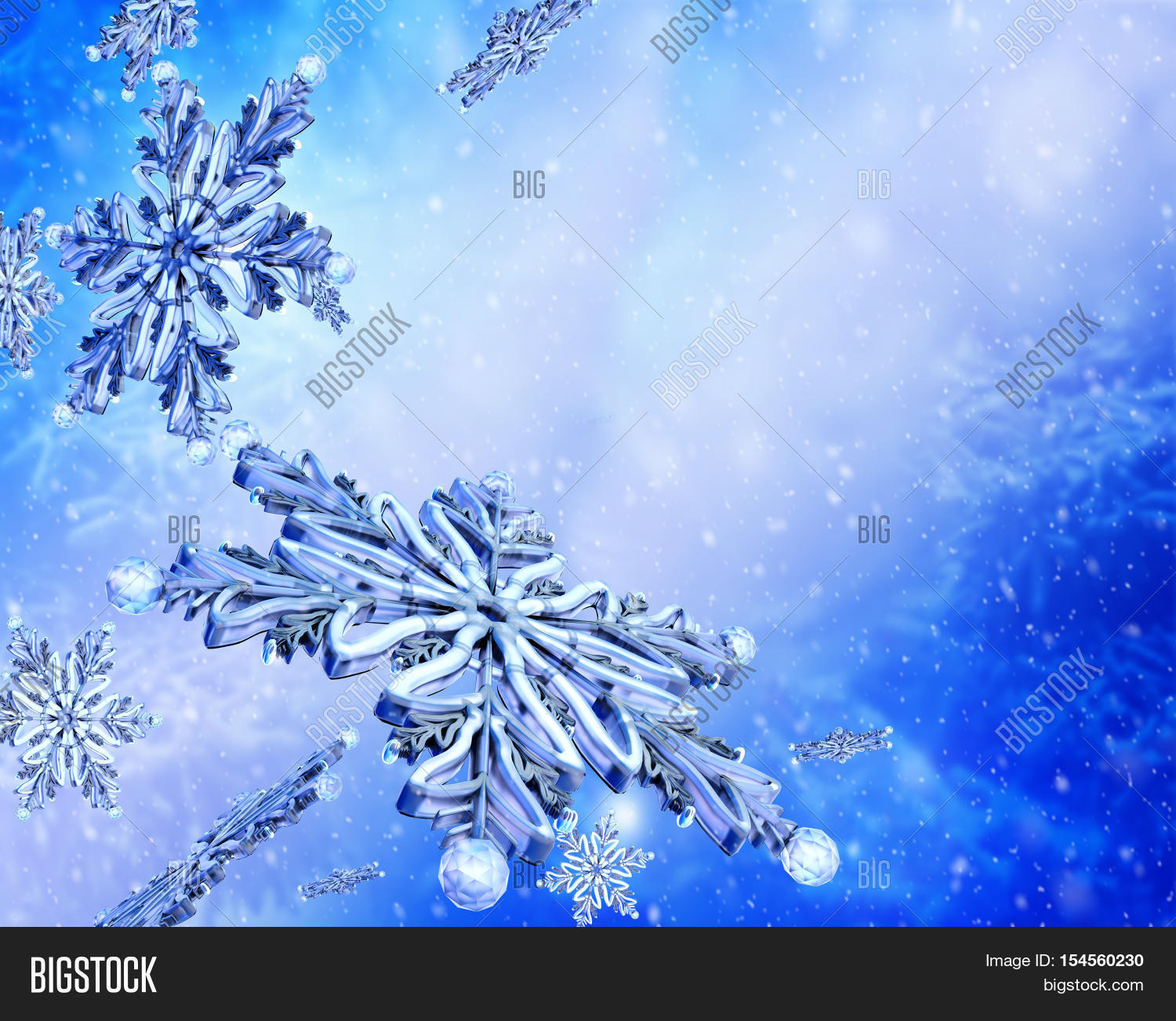 Flying Group Snowflake Image & Photo (Free Trial) | Bigstock