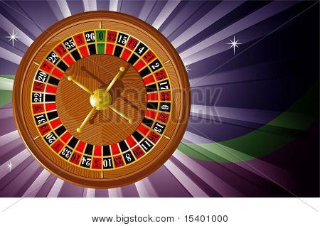Roulette. Vector.