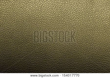 Yellow leather texture or leather background for design with copy space for text or image. Rough leather fabric.