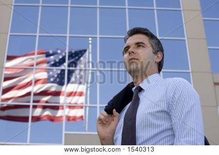 Businessman Outside 2