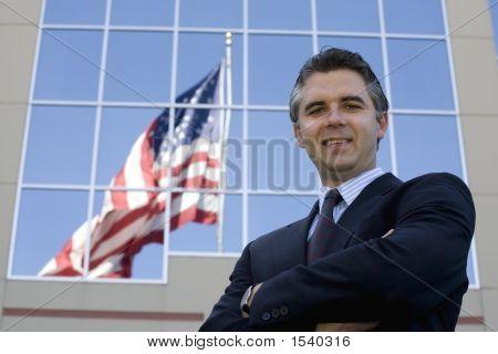 Businessman Outside 5
