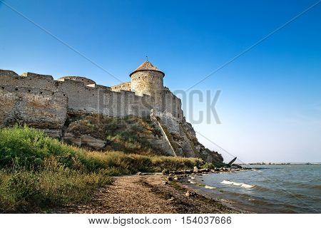 Akkerman fortress in Belgorod Dnestrovsky near Odessa Ukraine