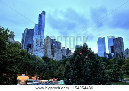 Midtown Manhattan View from Central Park, New York City