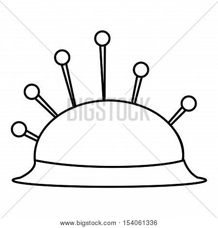 Needle bar icon. Outline illustration of needle bar vector icon for web