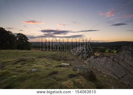 An image of a late summer evening shot at Bradgate Park, Leicestershire, England, UK.