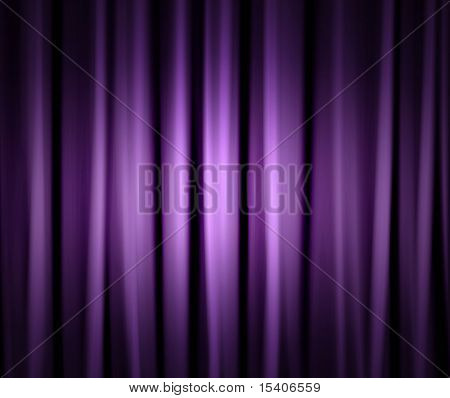 Dramatic Stage Drapes