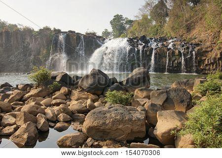 Tad Lo Waterfall, Bolaven Plateau, Laos, Asia