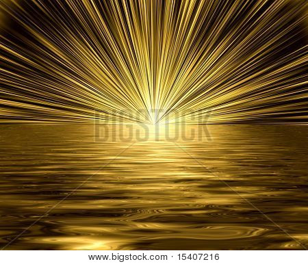 See The Golden Light, See Vector In My Portfolio