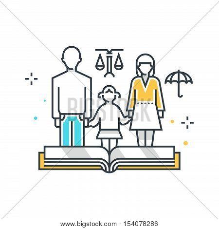 Child Custody Illustration