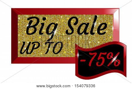 Big Sale Up To -75% Percent, Glittery