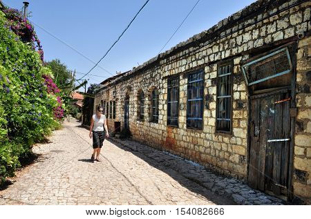 Rosh Pinna town located in the Upper Galilee on the Northern District of Israel.