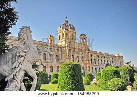 Arts and history museum (Kunsthistorisches) Vienna Austria