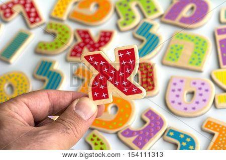 Hebrew Alphabet Letters