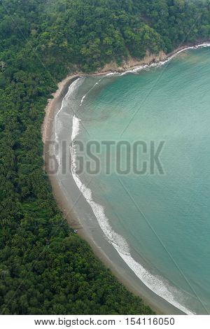 Aerial View Of The Golf Of Nicoya
