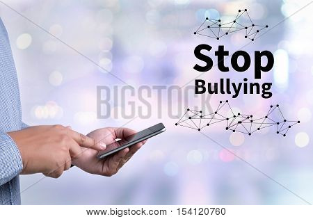 Stop Bullying backlinks, blogging, businessman, casual, coach