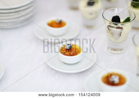 French Vanilla Cream Dessert