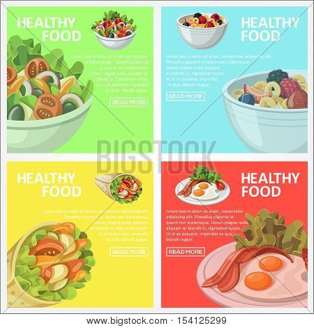 This design is suitable Affixed to the wall as a display which sells healthy food
