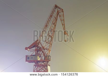 The Last Crane Of Bilbao, Called Carola.