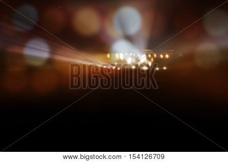 blur stage lights on concert. abstract background.