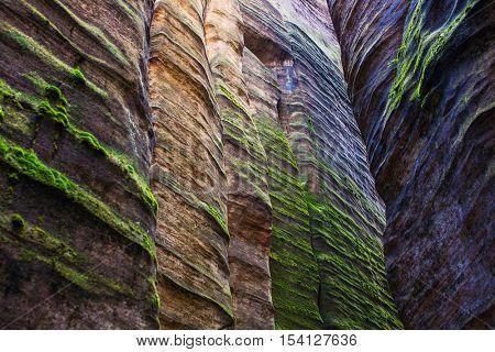 Adrspach-Teplice rocks in Czech
