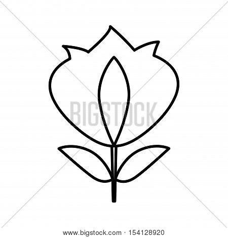 fleur de lys isolated icon vector illustration design