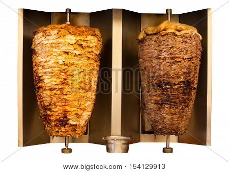 Grill Chicken Lamb Mutton Shawerma Meat Machine
