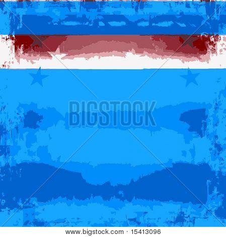 Vector Patriotic Background Grunge, See Jpeg Also In My Portfolio