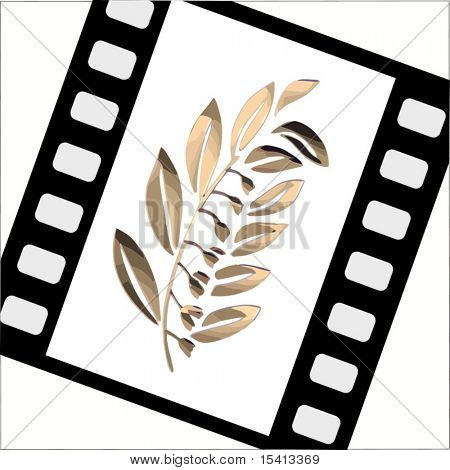 Vector Film With Gold Leaf