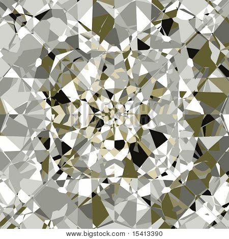 Vector Beautiful Diamonds Background, See Jpeg Also In My Portfolio