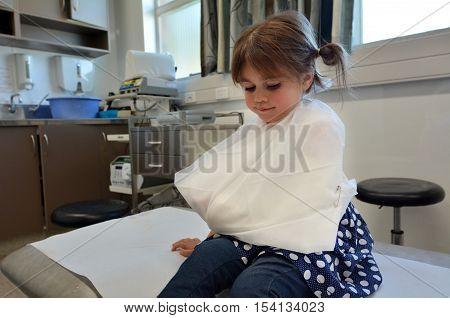 Girl With A Broken Arm