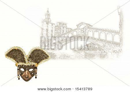 Venice in skatch