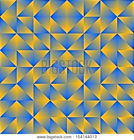 Polygon. Colorful Modern Low Poly Abstract Seamless Background