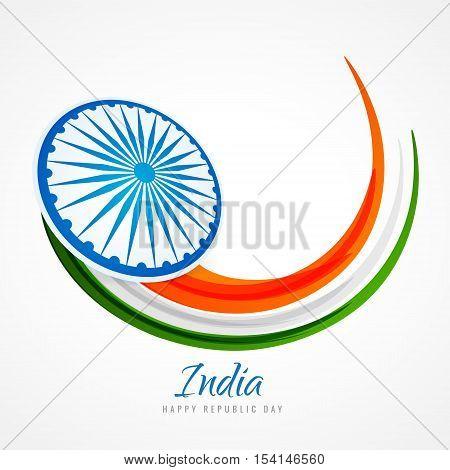 Indian Flag Poster Background Vector Design Illustration