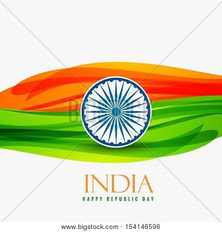 Republic Day Of India Vector Design Illustration