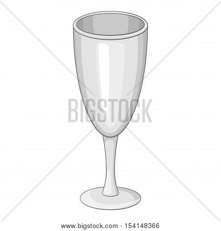 Wineglass icon. Cartoon illustration of wineglass vector icon for web