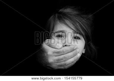 Child Abduction - Concept Photo